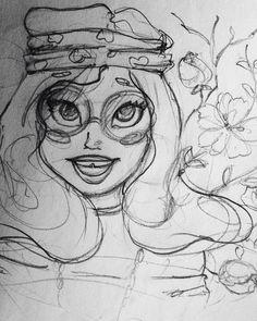 #vsco #vscocam #vscokiev #vscoukraine #kiev #ukraine #ukr #art #sketch #sketching #sketchbook #girl #hippie #drawing #glasses #style #flowers #cartoon #spring