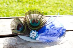 Hair clip hat elegant stylish for special by FantasiaCreations