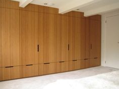 Built-in wardrobe using bamboo plywood