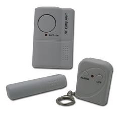 Flipo Group ALARM-ENT-W-RC Entry Alarm System with RF Remote by Flipo Group, Ltd.. $14.99. Awareness is the key to personal safety! Be alerted instantly if anyone intrudes with the Entry Alarm with RF Remote by Flipo. The Entry Alarm with RF Remote installs quickly and cleanly without any drilling or wiring. Simply peel and stick the main alarm to any door or window, then peel and stick the accompanying magnet bar to the frame, arm the alarm, and walk away, it's that ea...