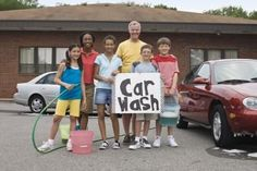 School Fundraising Ideas - carwash