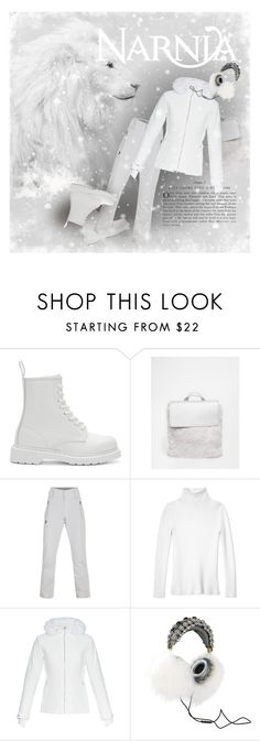 """""""WHITE: Narnia"""" by sharmarie ❤ liked on Polyvore featuring Dr. Martens, Skinnydip, Les Copains, Fusalp, Dolce&Gabbana, women's clothing, women, female, woman and misses"""