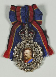 Family Order of King Edward VII - Badge belonged to Queen Alexandra (1902)