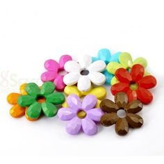 Wholesale Mixed Flower Acrylic Spacer from China Supplier Acrylic Beads, China, Flowers, Royal Icing Flowers, Flower, Porcelain, Florals, Floral, Blossoms