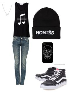 """""""tomboy outfit"""" by cheyenneventura ❤ liked on Polyvore featuring Vans, Adina Reyter, Brian Lichtenberg, women's clothing, women's fashion, women, female, woman, misses and juniors"""