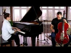 Ellie Goulding - Love Me Like You Do Cover (Cello/Piano) - Brooklyn Duo - YouTube