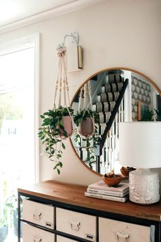 Farmhouse Style Lighting For Your Home Black And Gold Bathroom, Farmhouse Lighting, Cottage Living, Living Room, Small Space Living, Wall Treatments, Diy On A Budget, Home Look, Hanging Chair