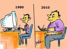 22 Ilustrasi Lucu Sindir Perubahan Zaman