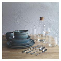 OLMO Turquoise speckled mug | Buy now at Habitat UK