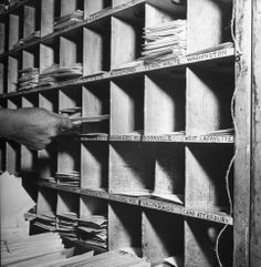 USPS, Sorting mail, 1944   In Praise of … Wait for It … the Postal Service   LIFE.com