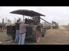 ▶ Steam Threshing Days at Heritage Park, Forest City, Iowa - YouTube