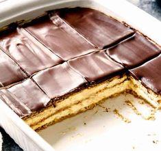 Prăjitura Ecler, fără coacere • Gustoase.net Kiwi, Tiramisu, Biscuit, Deserts, Food And Drink, Gluten Free, Sweets, Cookies, Bun Bun