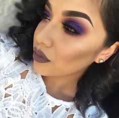 Learn about eye makeup looks and trends Gorgeous Makeup, Love Makeup, Makeup Art, Makeup Geek, Makeup Pics, Makeup Trends, Makeup Ideas, Lila Make-up, Mark Makeup