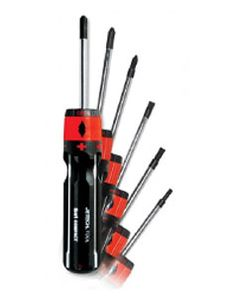 Buy 6 in 1 #Jtech #Screwdriver Set for Loosening & Tightening Tasks of Bolts and Nuts. Shop at Toolcasa.com