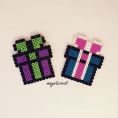 Presents hama beads by maynterest