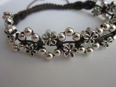 Shamballa Flowers Bracelet - YouTube