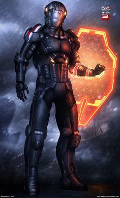 Mass Effect 3 N7 Paladin