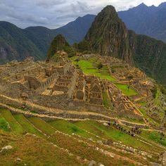 Resplendent greens of Machu Picchu. Photo courtesy of guerrilla_gallivanter on Instagram.
