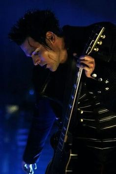 How insanely sexy is this photo of Sir Kruspe. #Rammstein #German