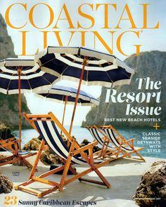 COASTAL LIVING MAGAZINE JANUARY FEBRUARY 2017 THE RESORT ISSUE SEASIDE  GETAWAYS