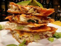 Don. Julio. Rocks. | Don Julio Quesadillas with Chipotle Tortillas, Cotija & Adobo Lime Crema