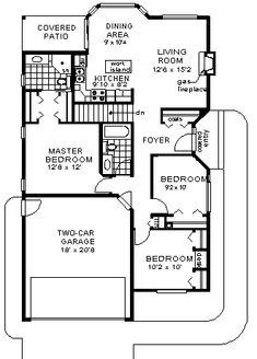 House Plan chp-1030 at COOLhouseplans.com
