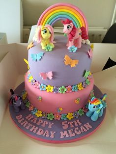 My little pony cake                                                                                                                                                     More