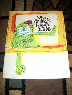 Vintage 60s Children's book Why Animals Have Tails by ARMonaco9, $3.50