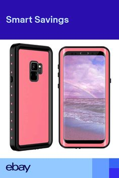 2f0b9ffe66dda For Samsung Galaxy S9 Plus Waterproof Case Built-in Screen Protector  Shockproof