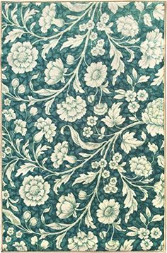 """Sweet Home Blue Floral Design Area Rug (3""""3""""X4'7"""") 3 Feet 3 Inch by 4 Feet 7 Inch with Non-Skid (Non-Slip) Rubber Backing Sweet Home Stores http://www.amazon.com/dp/B018OM1HU2/ref=cm_sw_r_pi_dp_h4lWwb0GFF6JQ"""