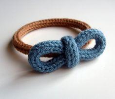 Spool Knitter bracelet ❥Teresa Restegui http://www.pinterest.com/teretegui/❥