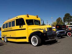 hot rod school bus | photo