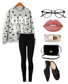 Untitled #31 by emmaszarka on Polyvore featuring polyvore, fashion, style, Wolford, Wet Seal, Casetify, Lime Crime and clothing