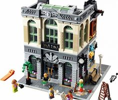If you a Lego collector or just like building things then the Lego brick bank is an item for you. Build the exterior and internal elements including vault, cashier point, office, bank manager office as well as a roof that comes with a bank robber to pull off heists.