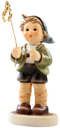 MI Hummel Little Luck Hummel Club Figurine 2296 Sold Out