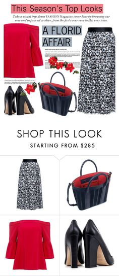 """""""This Season's Top Looks: A florid affair!"""" by ifchic ❤ liked on Polyvore featuring Mother of Pearl, TIBI and Dee Keller"""