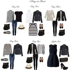 5 Days in Paris by atheis2783 on Polyvore featuring Mode, Proenza Schouler, Vero Moda, Clu, Helmut by Helmut Lang, River Island, AllSaints, Marc by Marc Jacobs, Paige Denim and True Religion