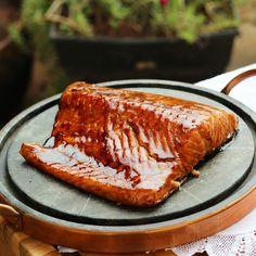 salmão ao gengibre