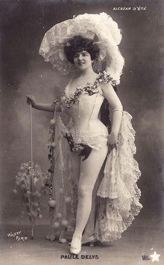 Vintage edwardian lady entertainer 001 by ~MementoMori-stock on deviantART
