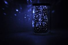 Can't see the stars from your bedroom window? Don't worry because now you can have the night sky light up your room. This how-to will show you how to create a glowing cosmic Mason jar!