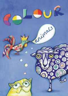 Animal Colouring Book by Sofie Børsting, Sormeja on Etsy, kr 89.00