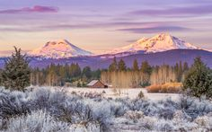Photograph Alpenglow Sunrise by Kathy Mitchell Lowery on 500px