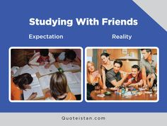 Expectation Vs Reality: Studying With Friends Expectation Reality, Friend Memes, Jessica Rabbit, Having A Baby, Funny Posts, Studying, Quote Of The Day, Funny Pictures, Life Quotes