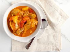 This sweet and spicy dish is meant to be eaten with lots of rice!