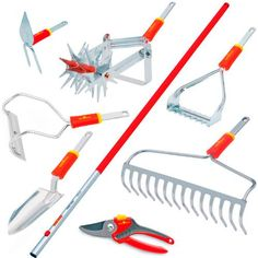 Shop the best German weeding tool RFM Push-Pull Weeder from WOLF Garten Germany. Ergonomic weeders, stand up weeders, push pull weeders and the best weed removal tools on the market are at BlueStone! Shop online or call today! Best Garden Tools, Garden Tool Shed, Garden Tool Storage, Gardening Tools, Best Lawn Edger, Weeding Tools, Wand Massager, Lawn Edging, Home Vegetable Garden