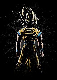 dragon ball z wallpaper dark Goku Wallpaper, Batman Wallpaper, Dark Wallpaper, Dragonball Wallpaper, Wallpaper Keren, Dragon Ball Z, Manga Dbz, Anime Dragon, Super Manga