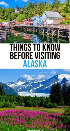 If you are thinking about traveling to Alaska, here are some important things you must know! These Alaska travel tips will prepare you for your trip! Alaska Travel, Travel Usa, Travel Tips, Travel Packing, Travel Essentials, Alaska Trip, Anchorage Alaska, Shopping Travel, Cruise Travel