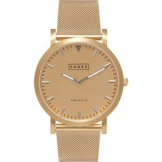 Shore Projects Abersoch Watch with Mesh Strap | Gold