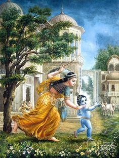 Janmashtami, the birthday of Lord Krishna is celebrated with great devotion and enthusiasm in India in the month of July or August. When is & how many days until Krishna Janmashtami in Señor Krishna, Yashoda Krishna, Krishna Lila, Radha Krishna Photo, Krishna Book, Shiva Tandav, Hanuman, Durga, Baby Krishna