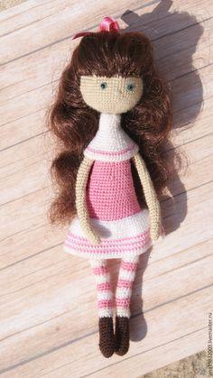 Купить Кукла в розовом - розовый, кукла, куколка, игрушка, подарок девочке…